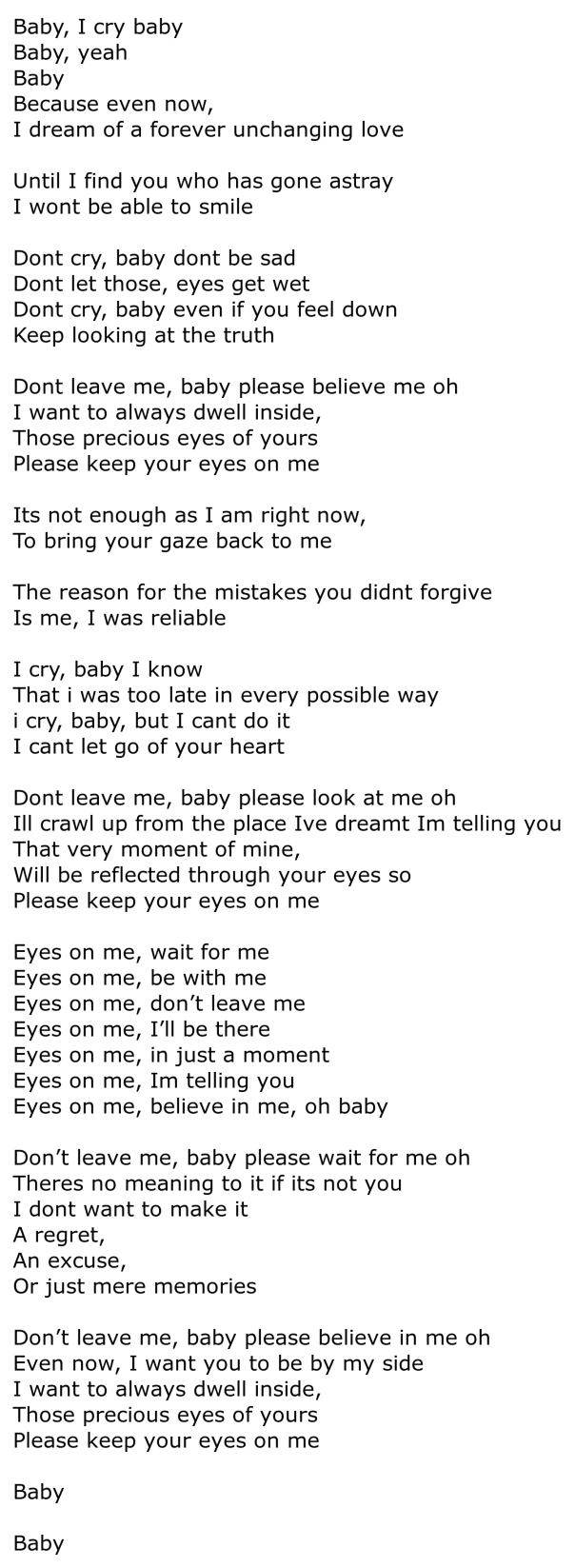 FTIsland-Eyes-on-me